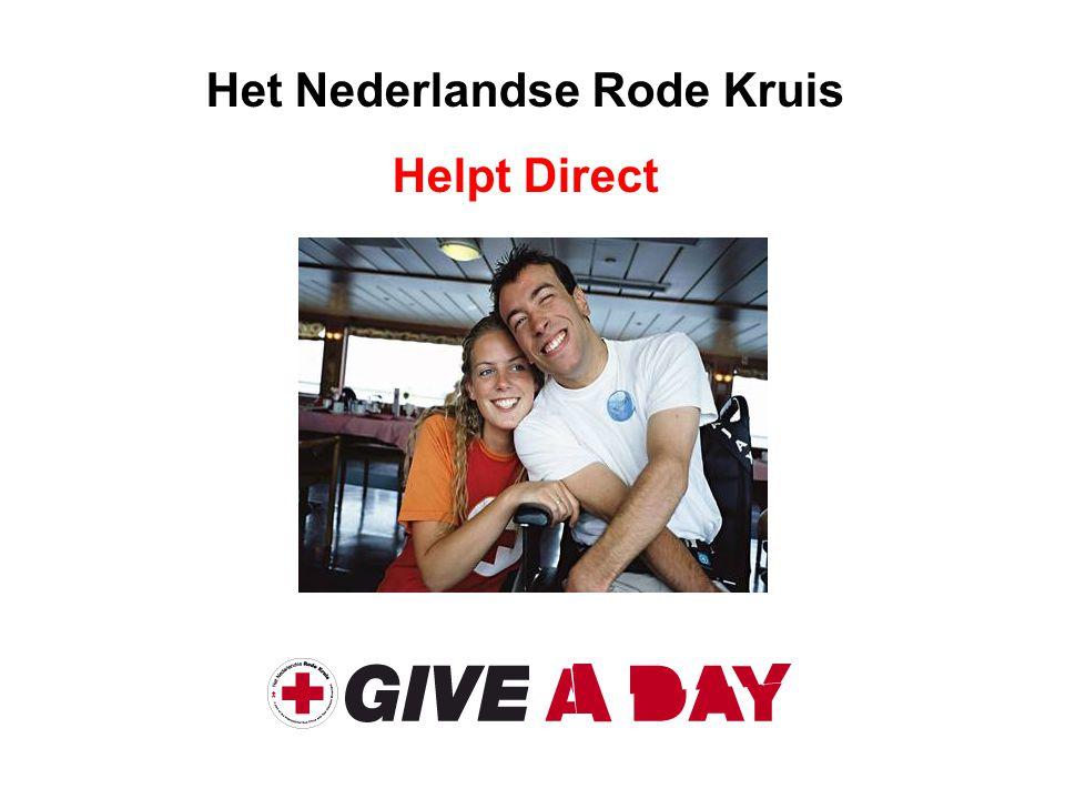 Het Nederlandse Rode Kruis Helpt Direct