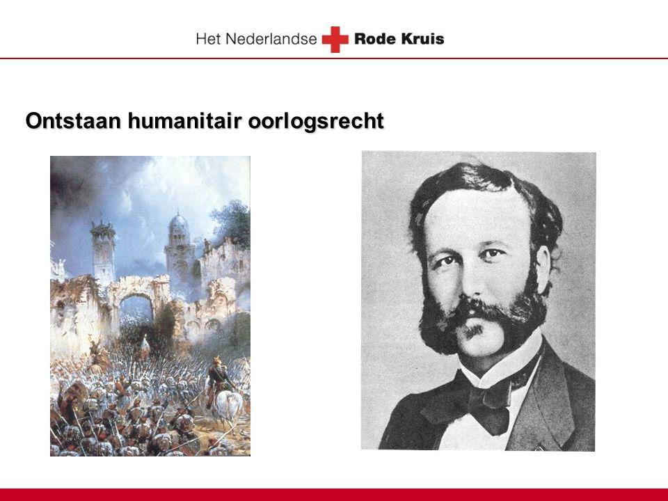Ontstaan humanitair oorlogsrecht
