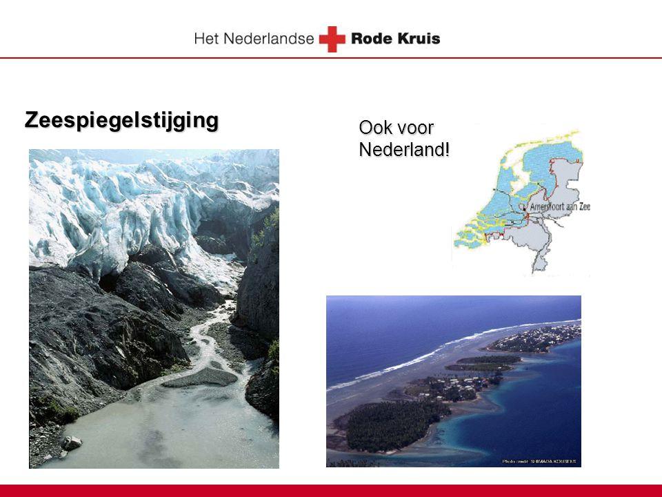 Zeespiegelstijging Ook voor Nederland!