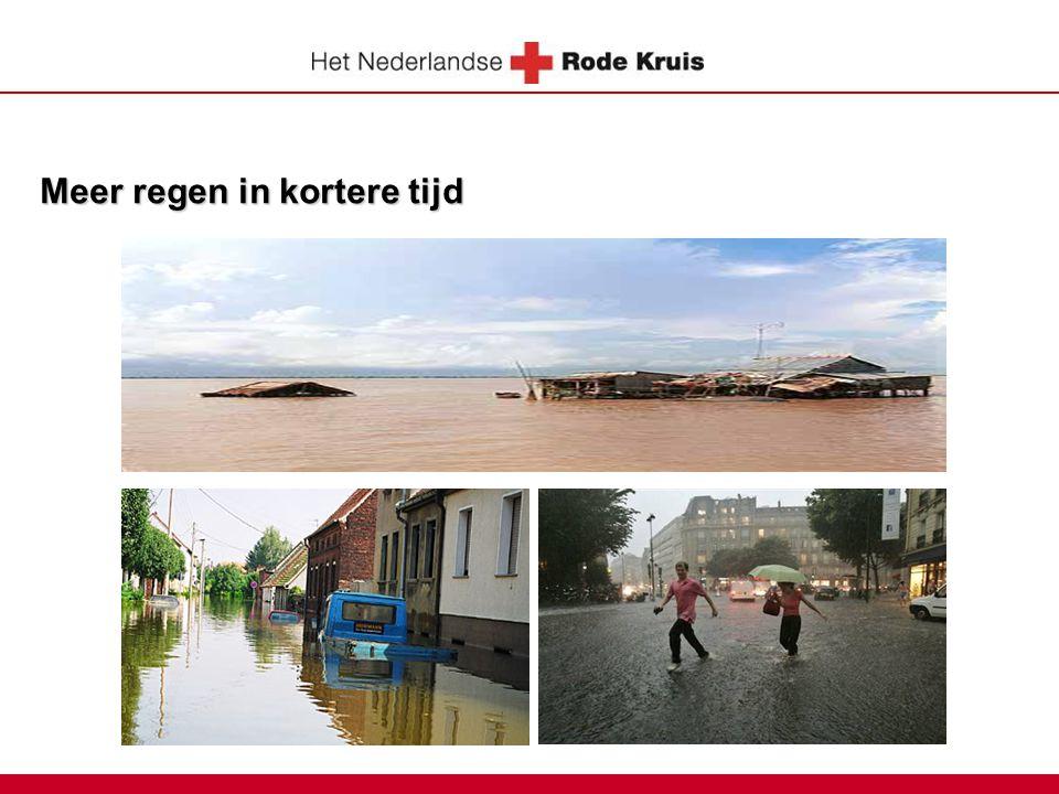 Orkanen Toename in kracht, niet in aantal.