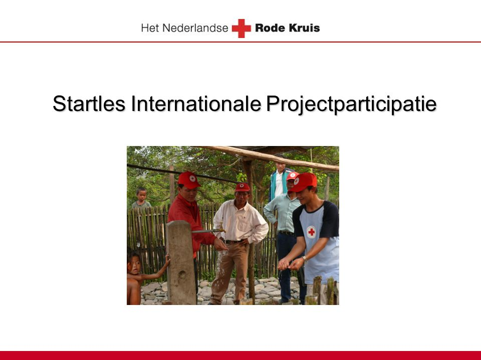 Startles Internationale Projectparticipatie