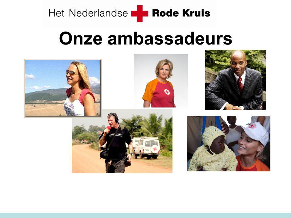 Onze ambassadeurs