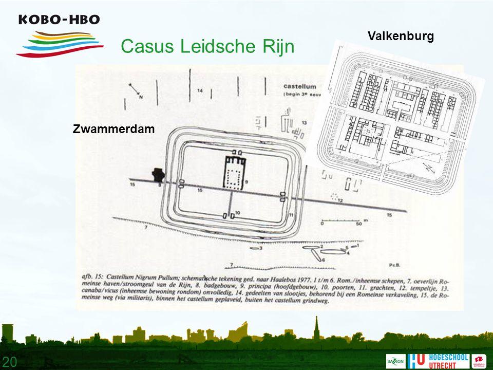 20 Casus Leidsche Rijn Zwammerdam Valkenburg