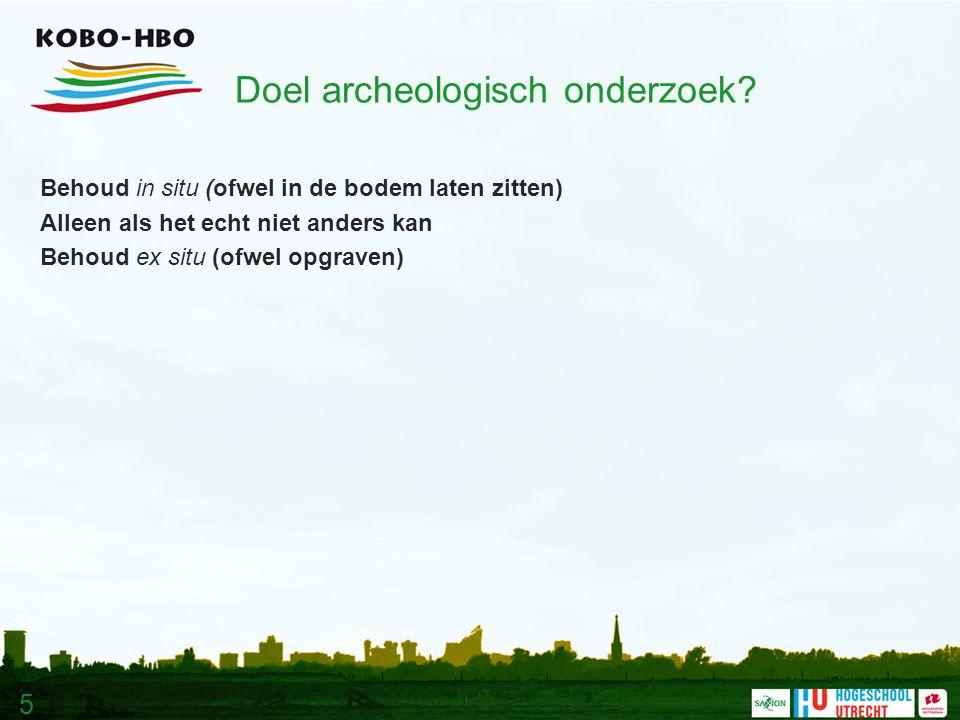 5 Doel archeologisch onderzoek.