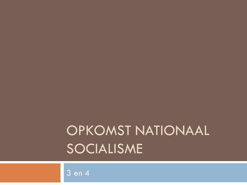 OPKOMST NATIONAAL SOCIALISME 3 en 4