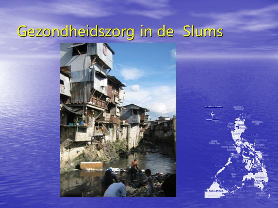 Gezondheidszorg in de Slums