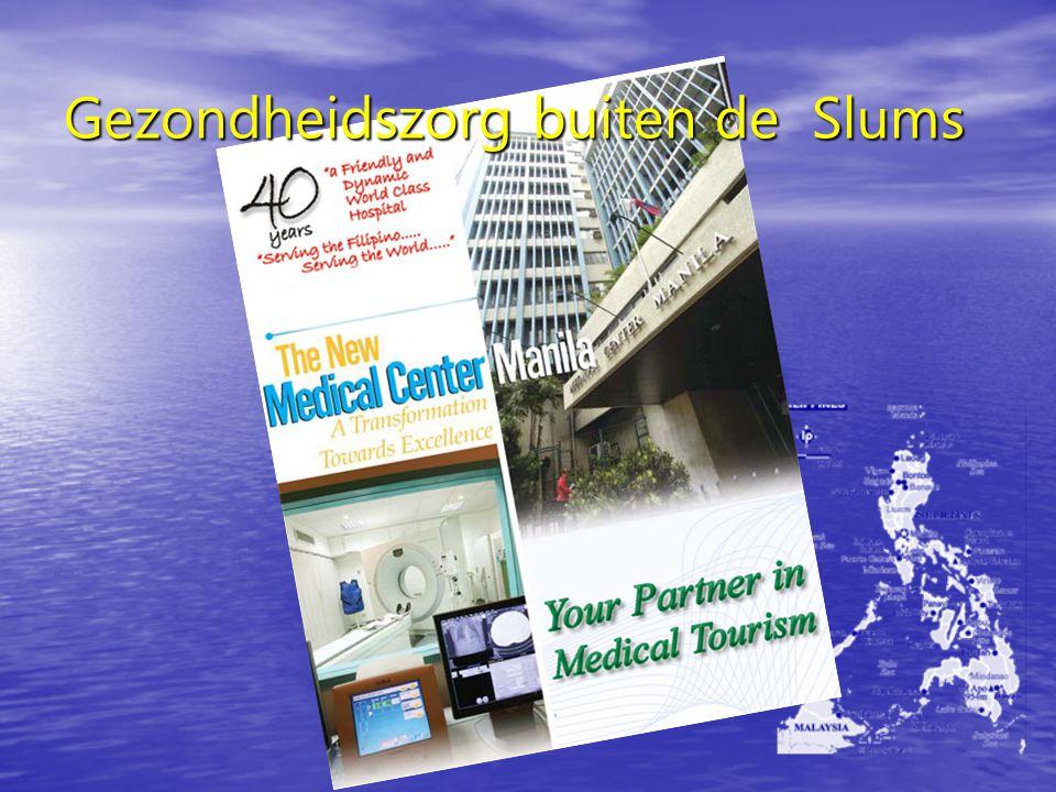 Gezondheidszorg buiten de Slums