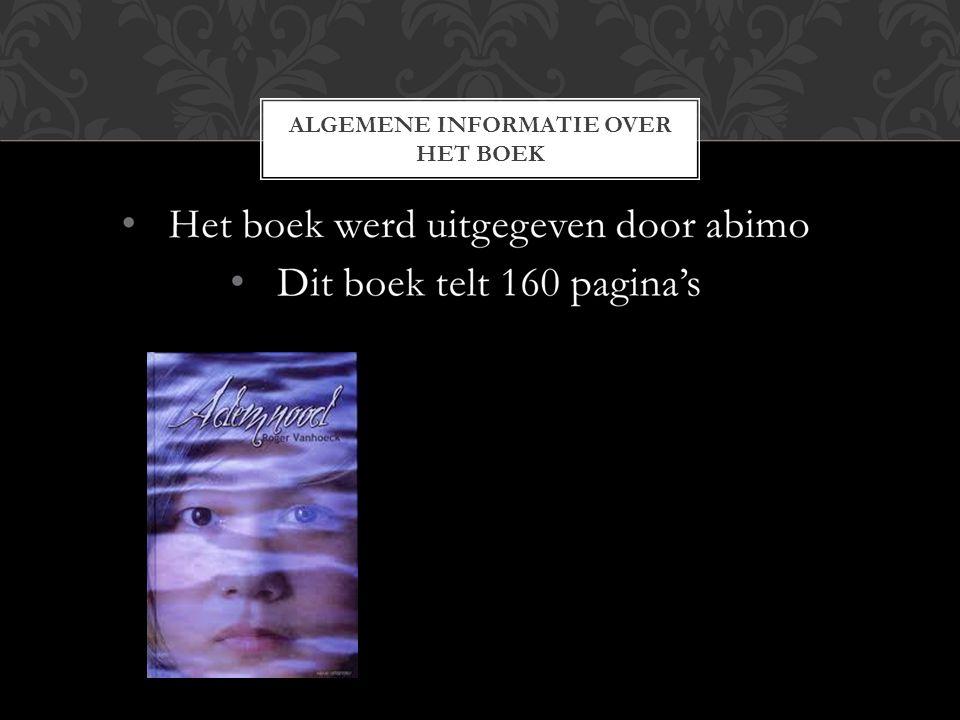 ALGEMENE INFORMATIE OVER HET BOEK