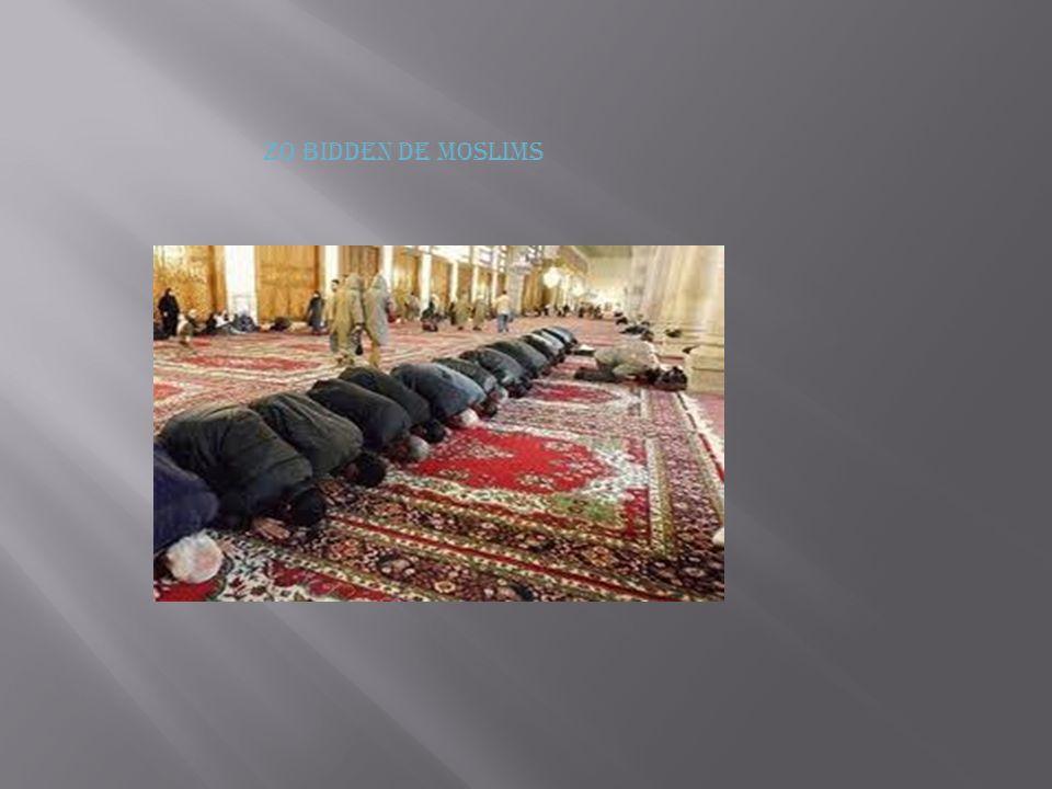 Zo bidden de moslims