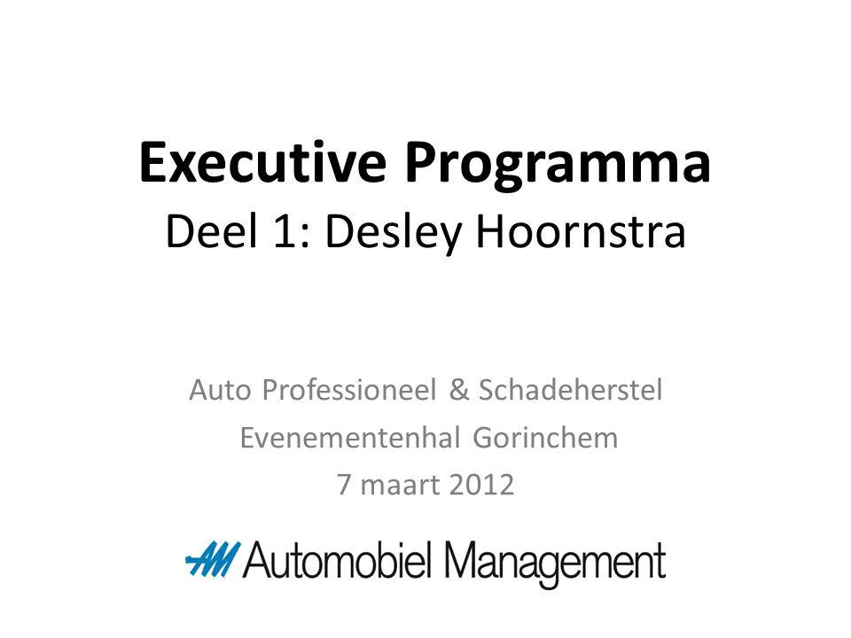 Deel 1: Desley Hoornstra Auto Professioneel & Schadeherstel Evenementenhal Gorinchem 7 maart 2012