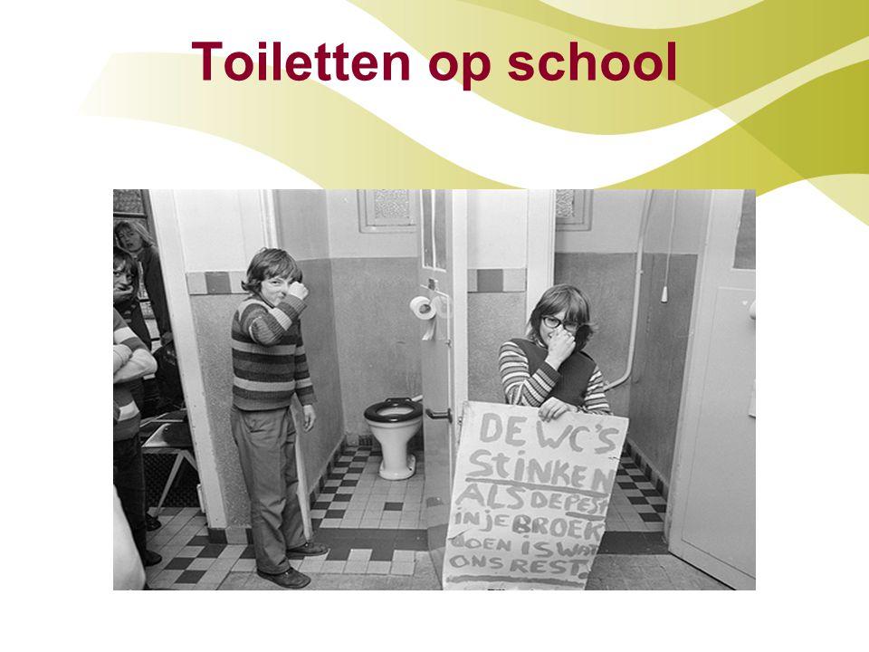 Toiletten op school