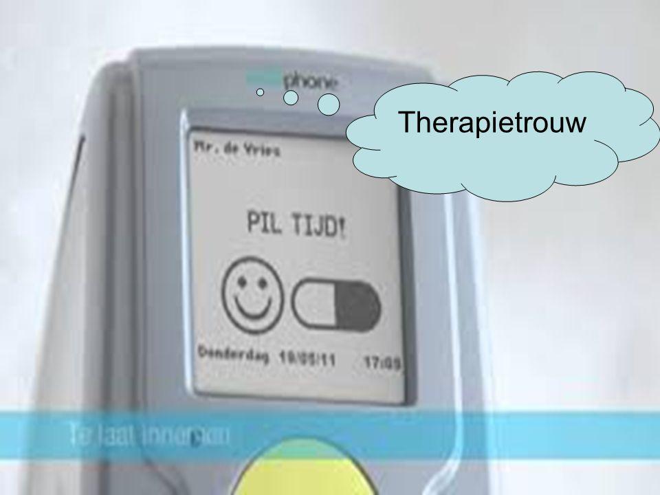 13 Therapietrouw