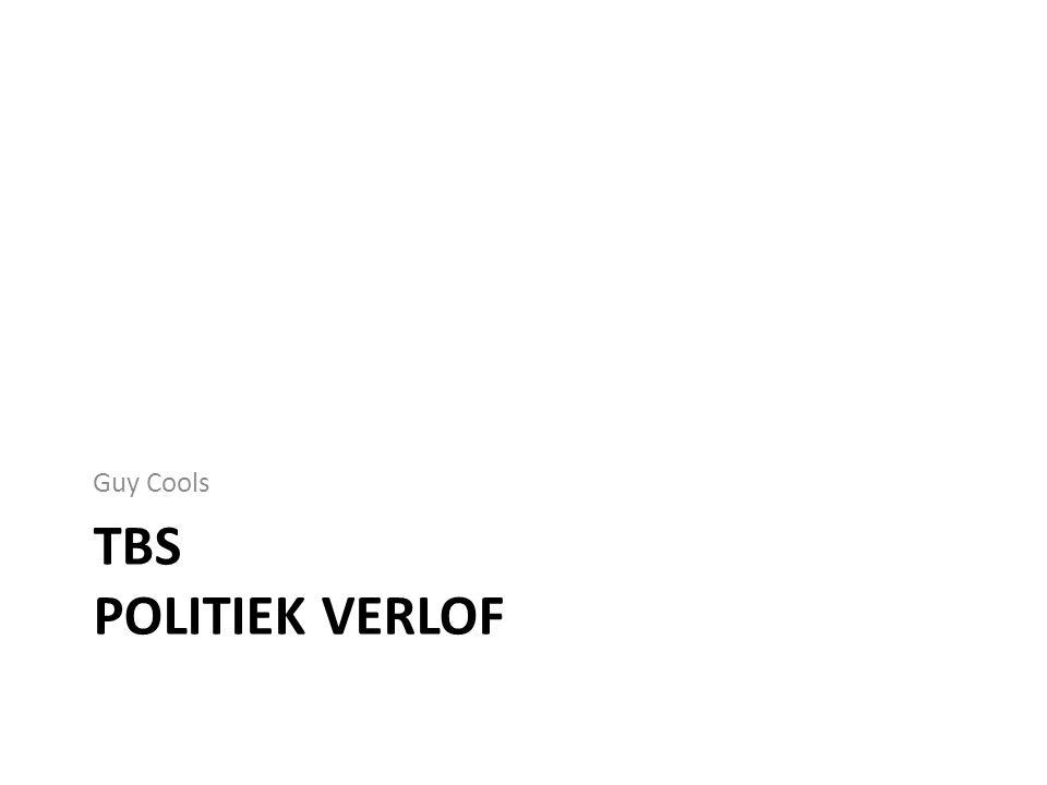 TBS POLITIEK VERLOF Guy Cools