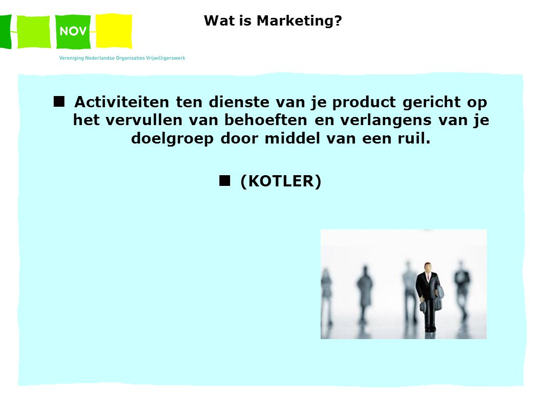 Wat is Marketing.