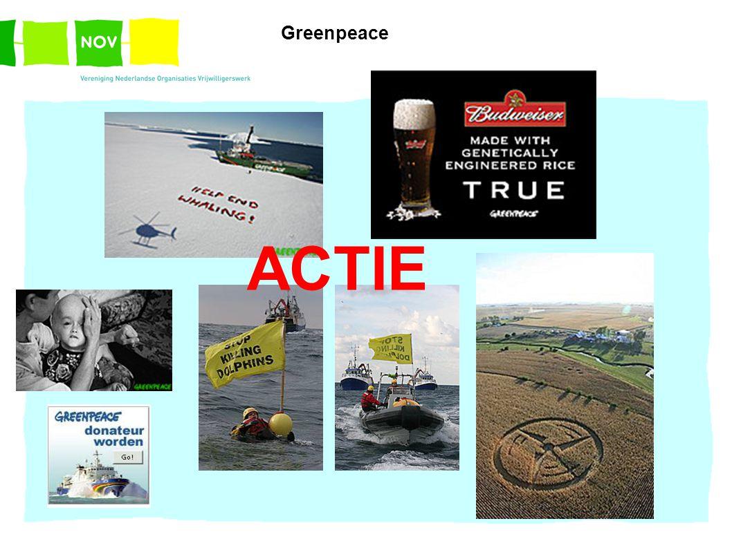 ACTIE Greenpeace