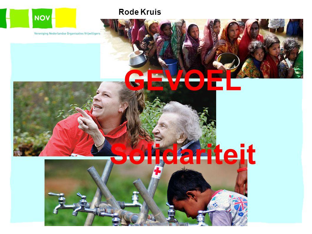 GEVOEL Solidariteit Rode Kruis