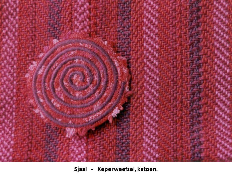 Sjaal - Keperweefsel, katoen.