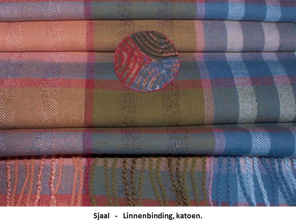 Sjaal - Linnenbinding, katoen.