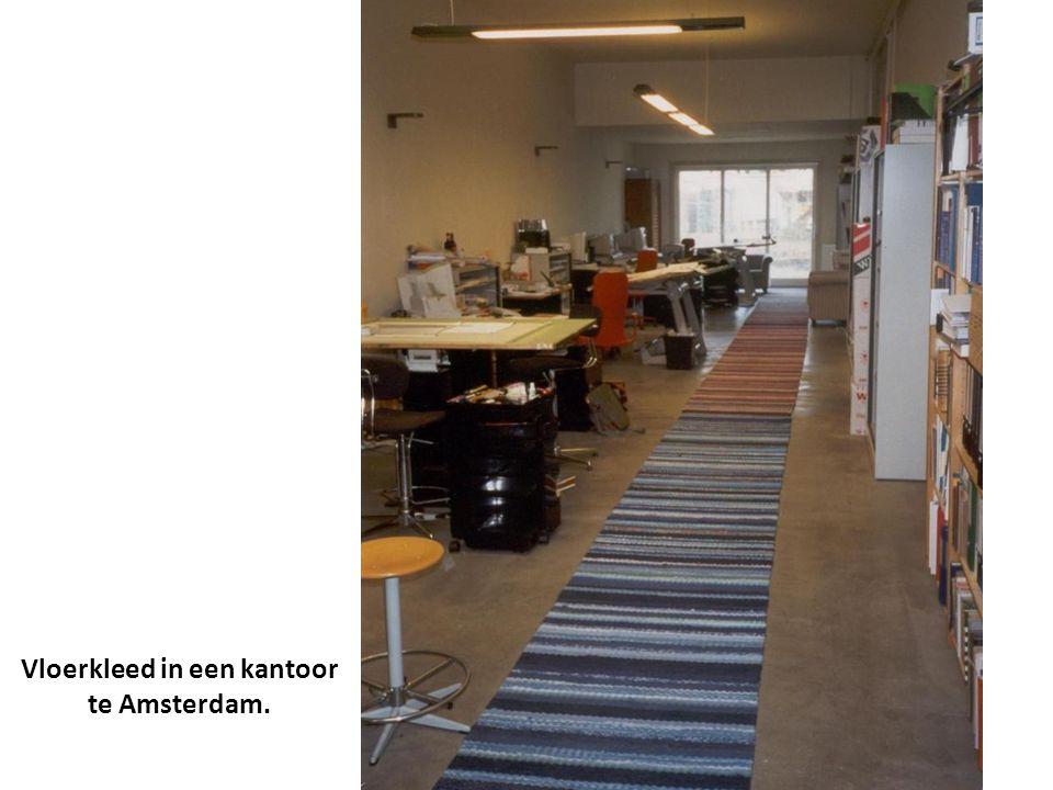 Vloerkleed in een kantoor te Amsterdam.