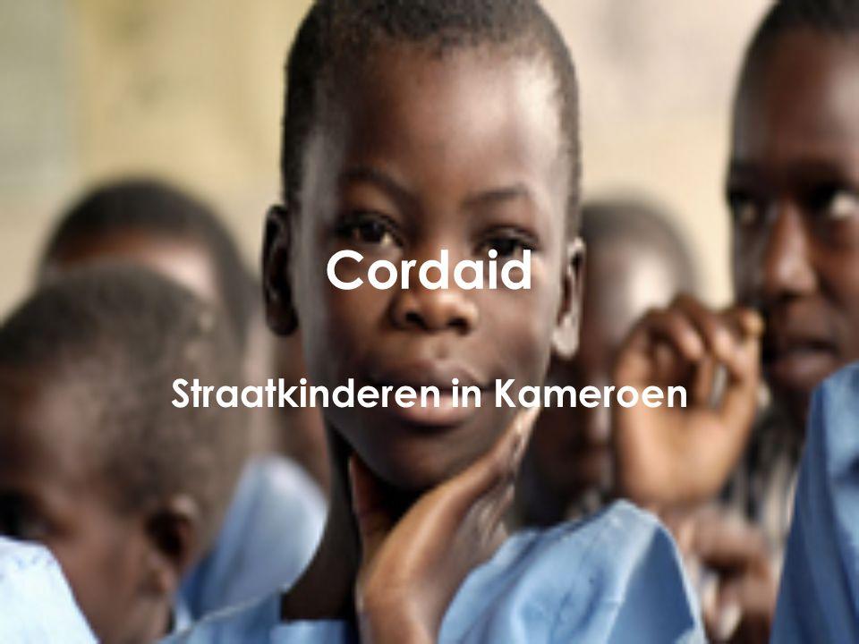 Cordaid Straatkinderen in Kameroen