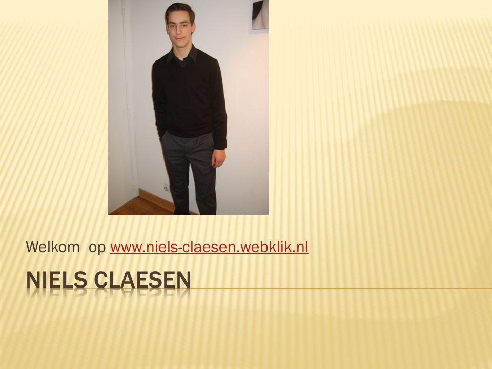 Welkom op www.niels-claesen.webklik.nlwww.niels-claesen.webklik.nl