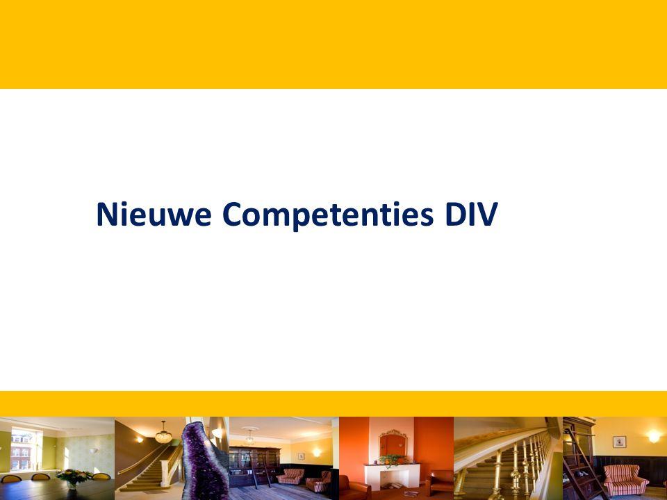 Nieuwe Competenties DIV