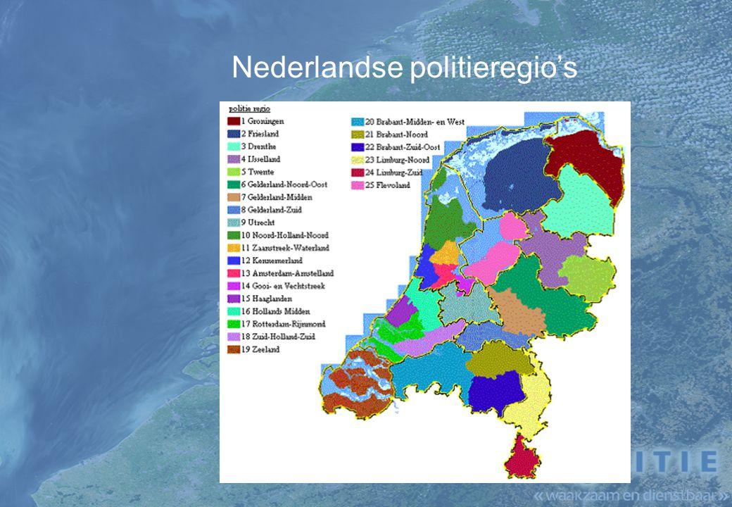 Nederlandse politieregio's