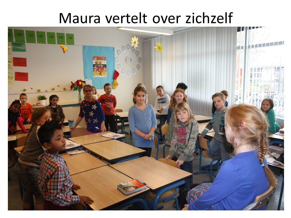 Maura vertelt over zichzelf