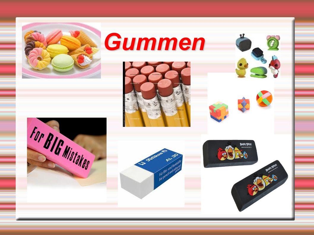 Inhoud H1: Wat zijn gummen.H2: Geschiedenis van de gum H3: Waar zijn ze van gemaakt.