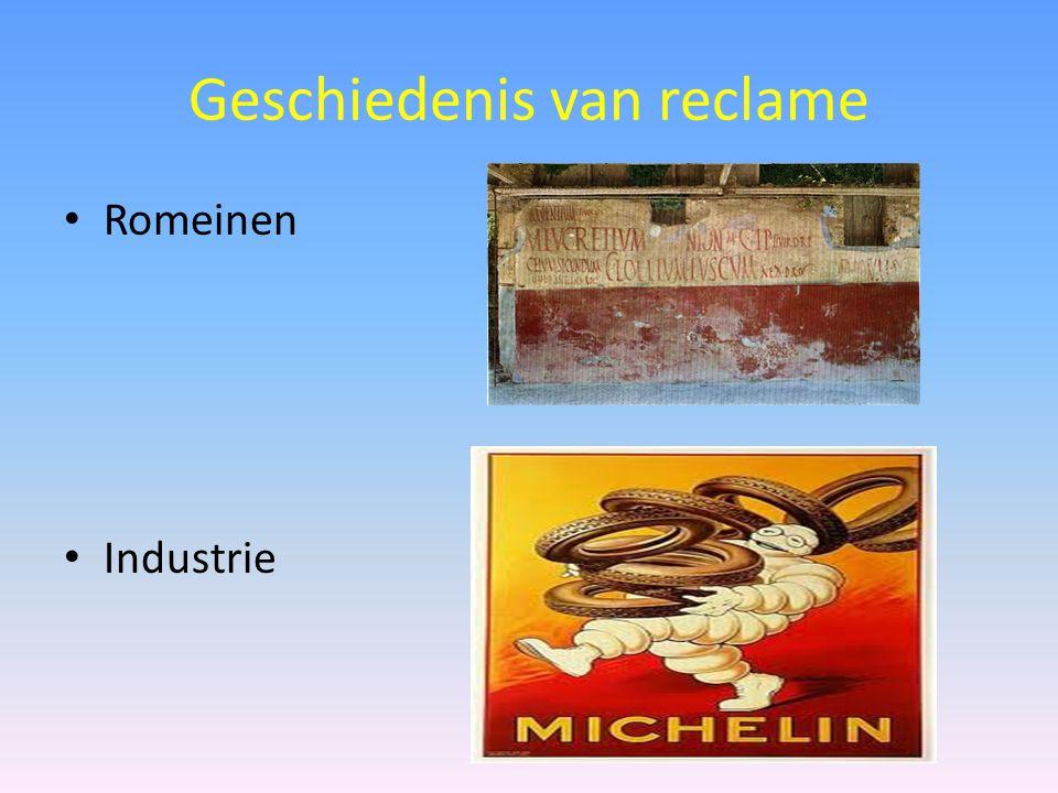 Geschiedenis van reclame Romeinen Industrie