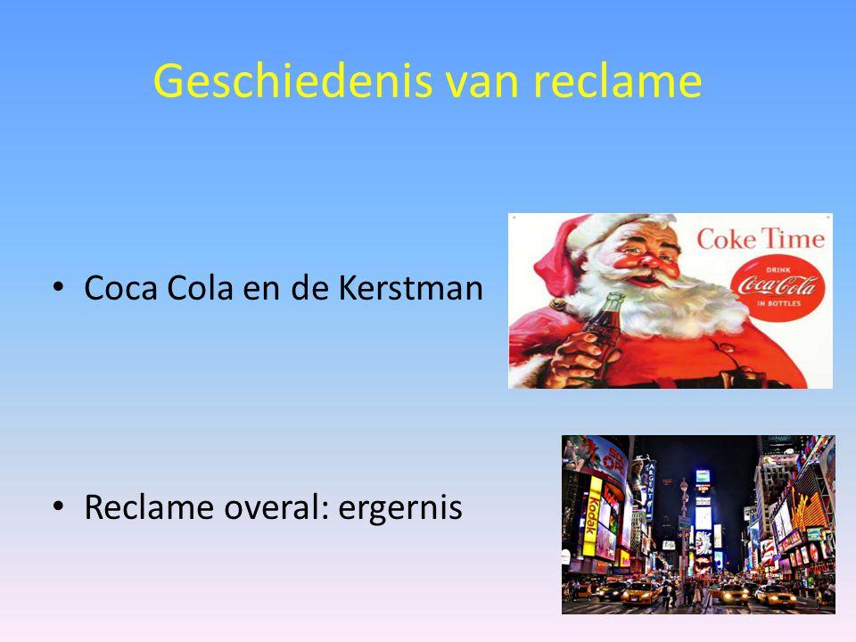 Geschiedenis van reclame Coca Cola en de Kerstman Reclame overal: ergernis