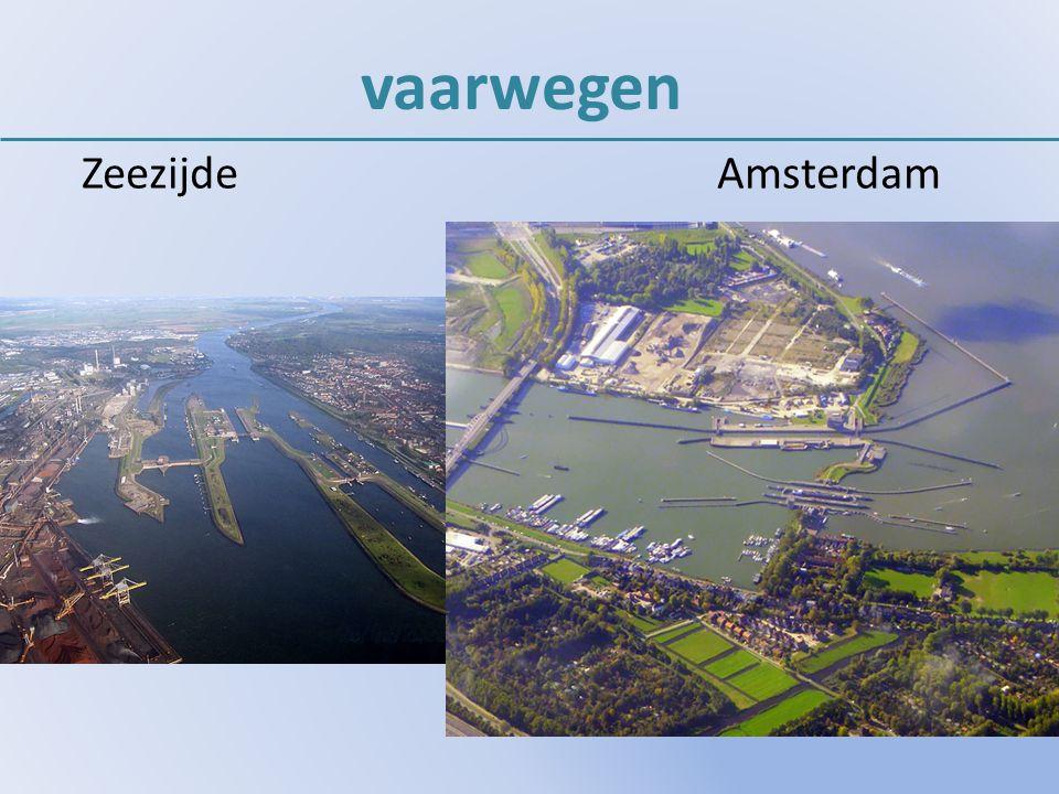 vaarwegen Zeezijde Amsterdam