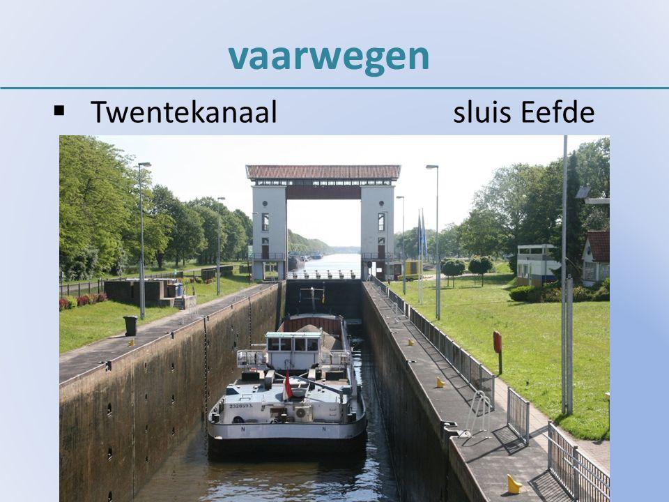 vaarwegen  Twentekanaalsluis Eefde