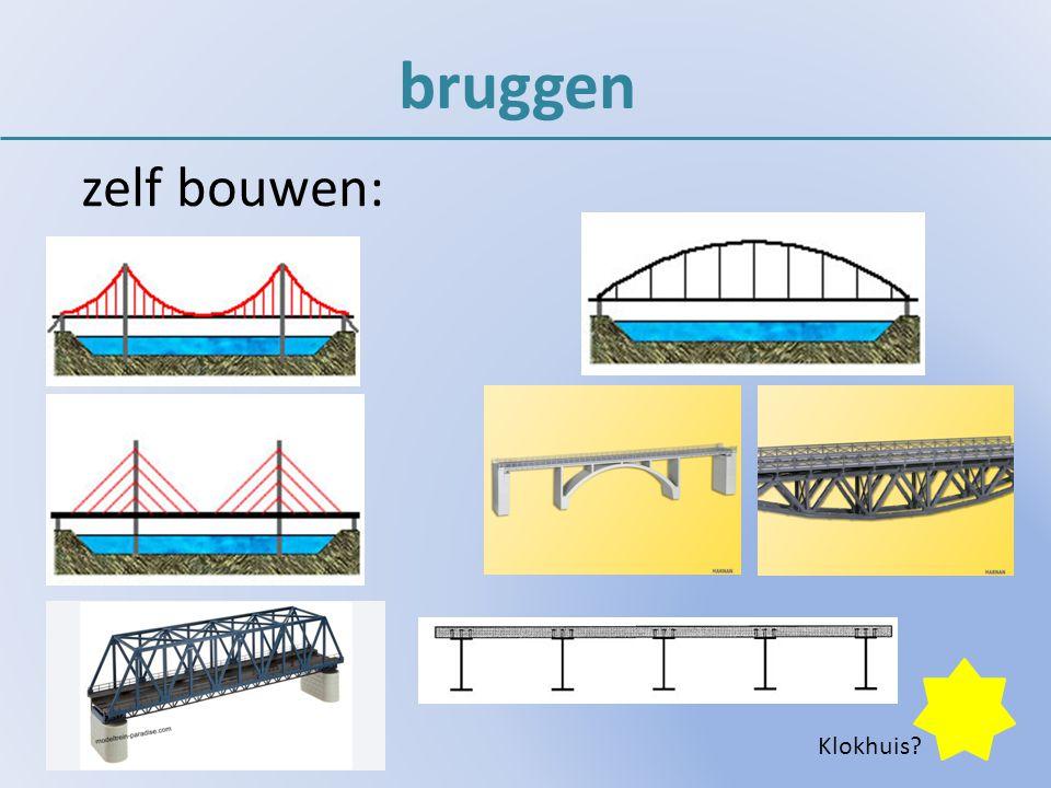 bruggen zelf bouwen: Klokhuis?
