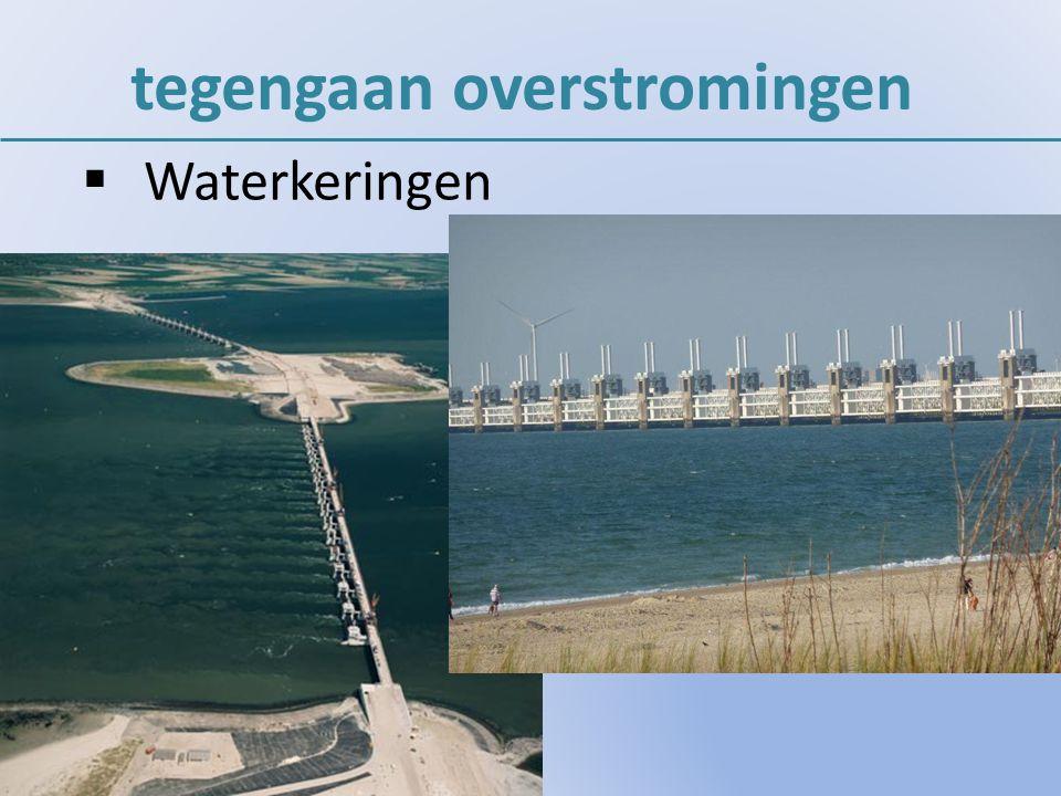  Waterkeringen tegengaan overstromingen