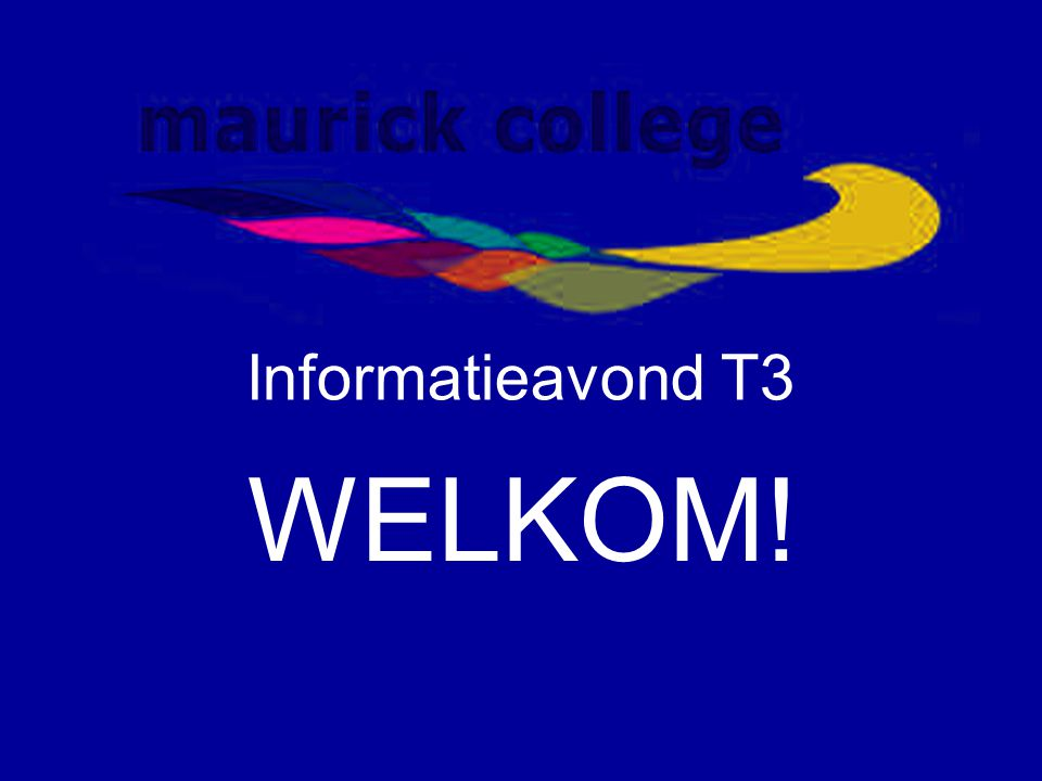 Nadere kennismaking mentoren  T3A: J.Dirkx en M.