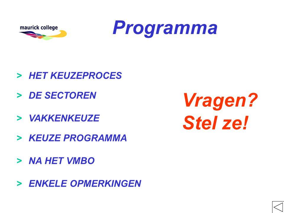 september :jaargangsavond voor ouders en leerlingen week 38 : start keuzelessen week 39 : onderwijsbeurs Zuid-Nederland (Zaterdag en Zondag) week 41 : activiteitenweek week 48 : de praktische sectororiëntatie (PSO) week 49 : voorlopige keuze (1) week 50:definitieve keuze (1) week 03 : MBO opleidingenmarkt in het SintJans-Lyceum week 14 : voorlopige keuze (2) week 16 : definitief worden van de sector- en vakkenkeuze (2) DATA