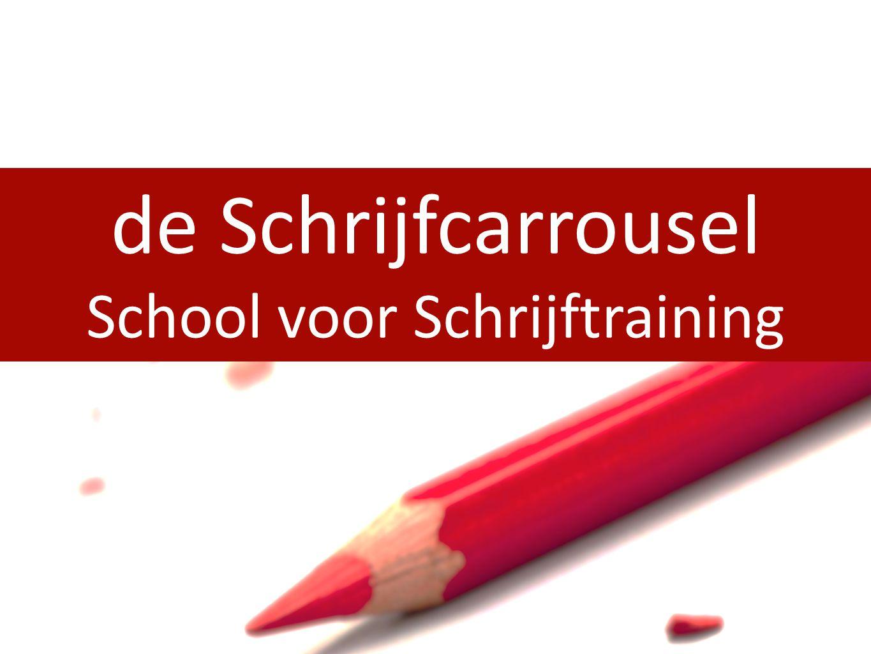 de Schrijfcarrousel School voor Schrijftraining