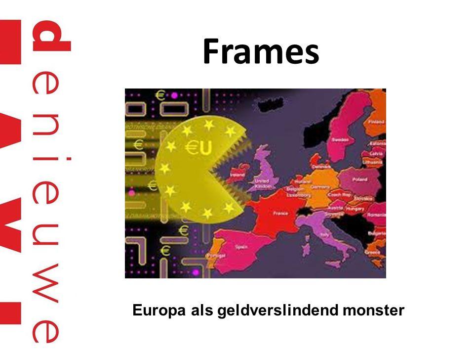 Frames Europa als geldverslindend monster