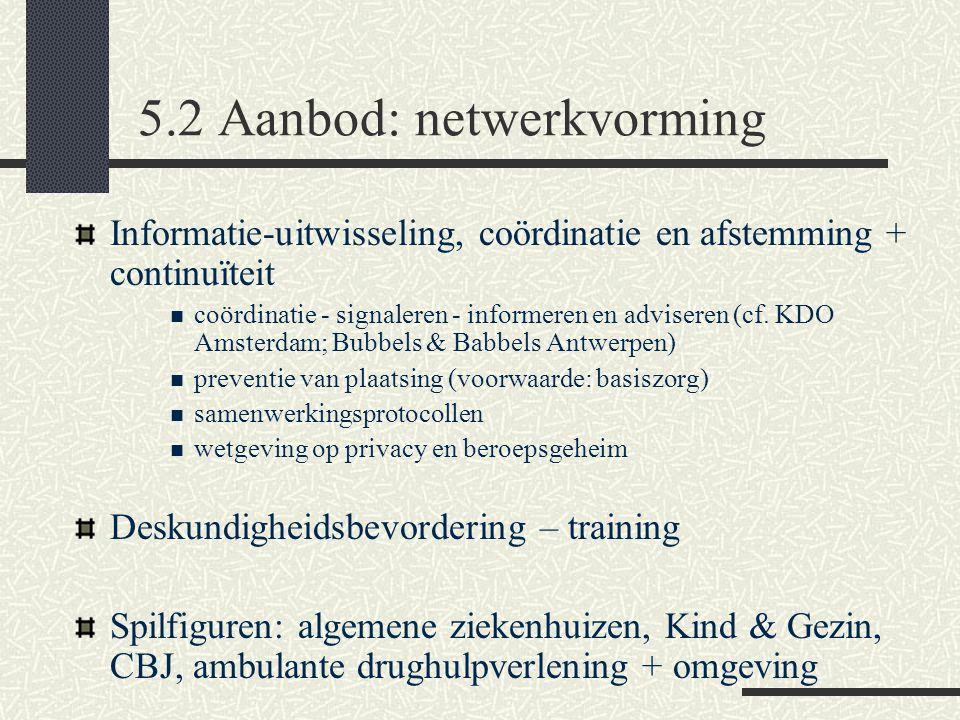 Voorbeeld: ambulante pedagogische thuiszorg: intensieve hulp in thuissituatie gericht op opvoedingsproblemen vermijden van dreigende uithuisplaatsing