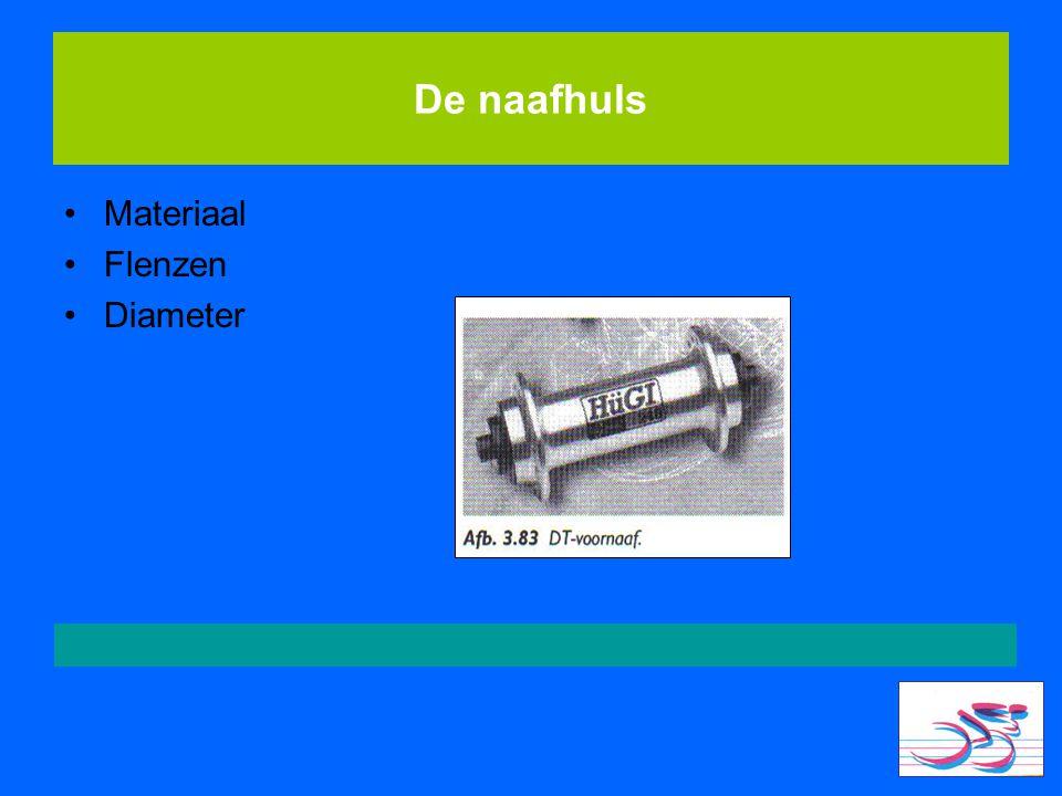 De naafhuls Materiaal Flenzen Diameter