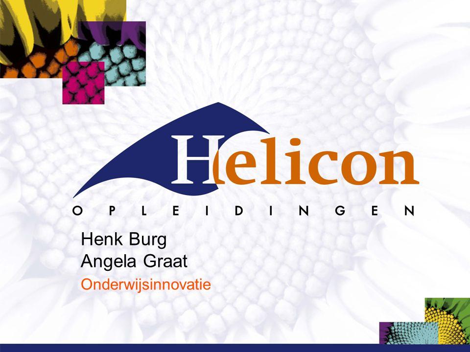 Henk Burg Angela Graat Onderwijsinnovatie