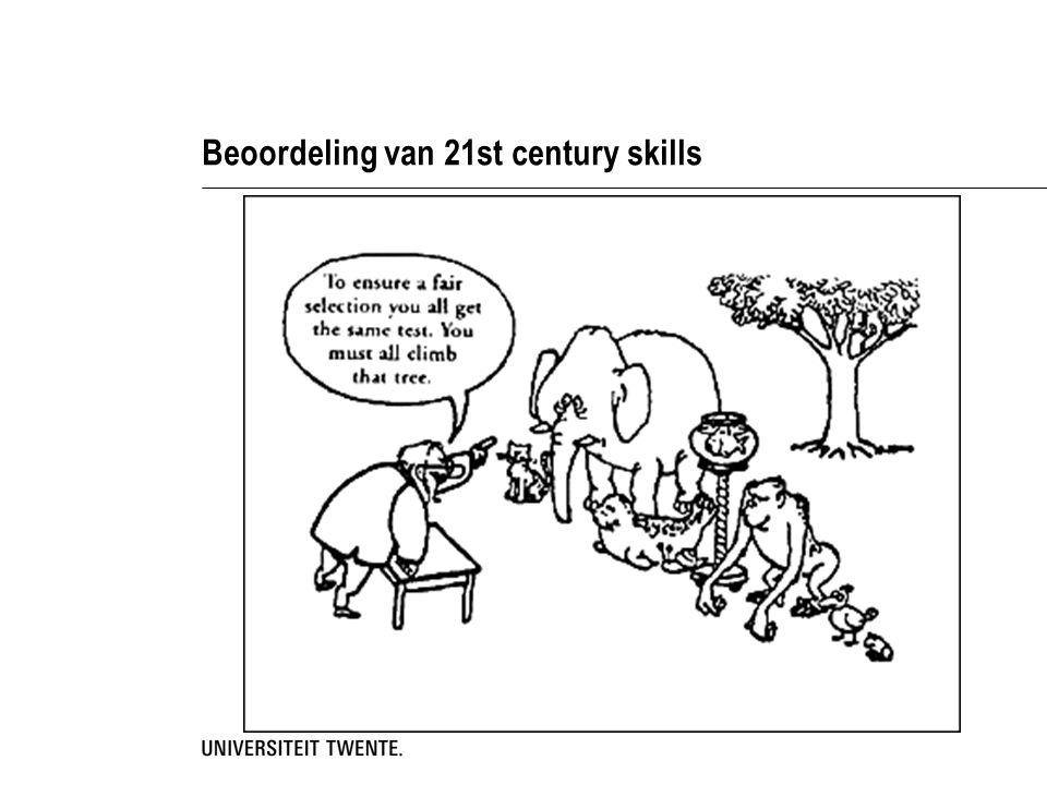 Beoordeling van 21st century skills