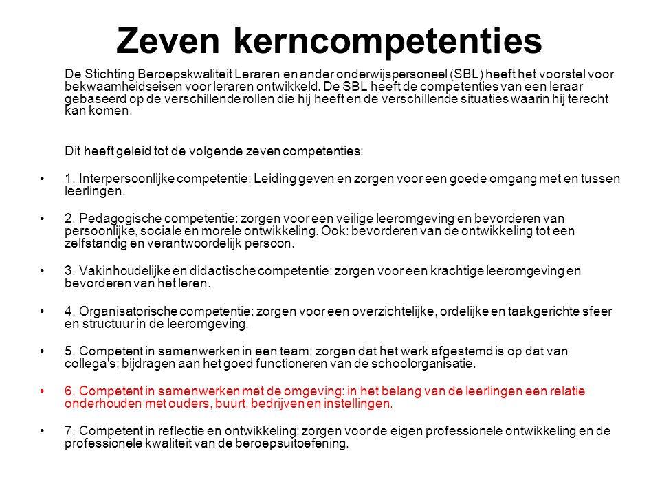 De omgeving leerlingen ouders 's-Hertogenbosch Noord-Brabant Nederland De wereld