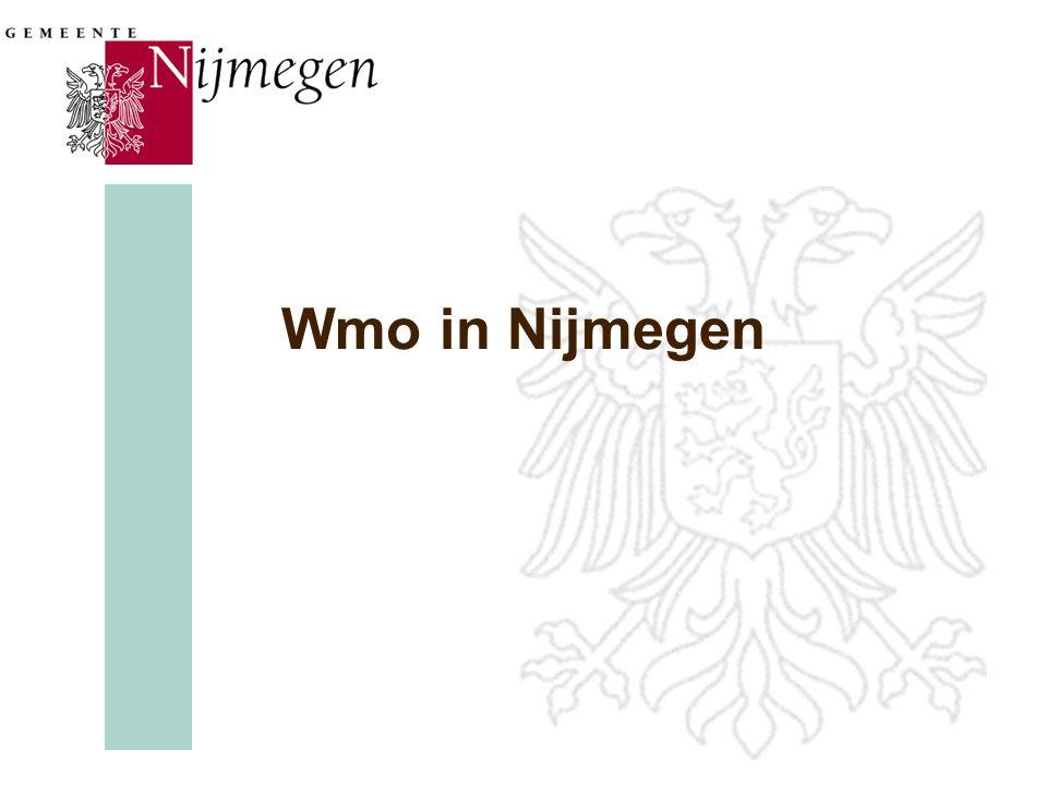 Wmo in Nijmegen