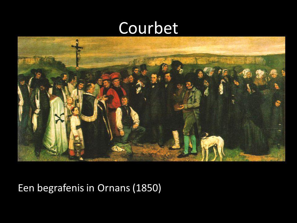 Courbet Een begrafenis in Ornans (1850)