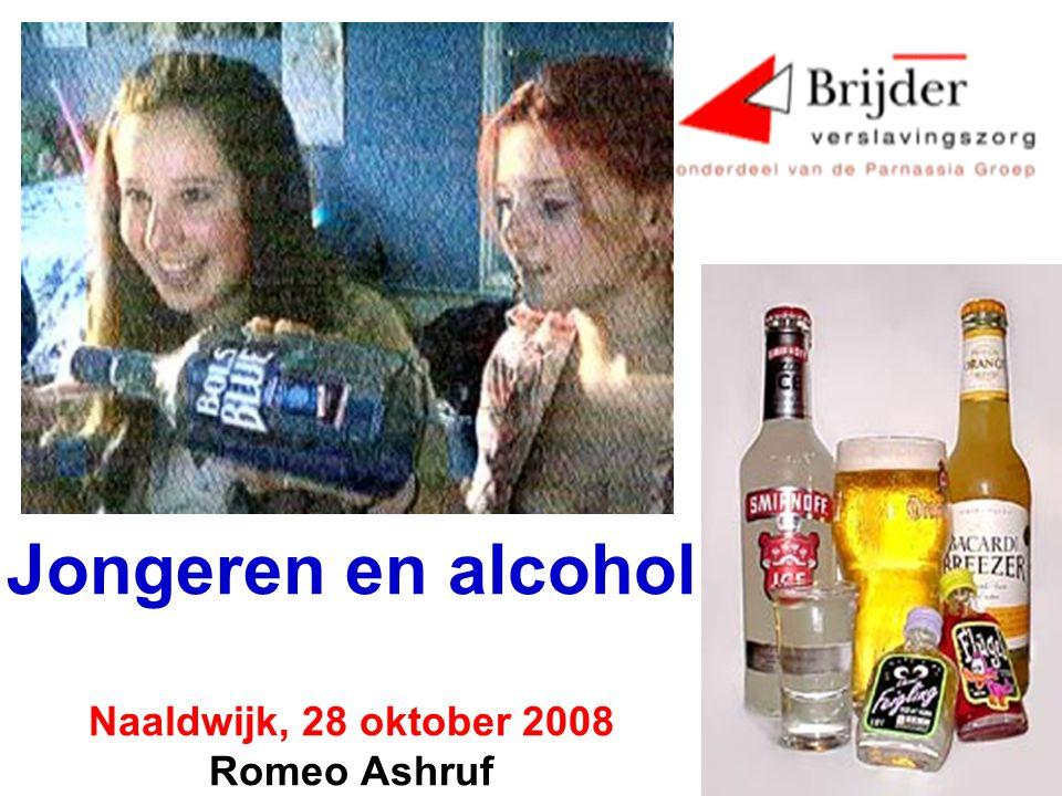 Jongeren en alcohol Naaldwijk, 28 oktober 2008 Romeo Ashruf