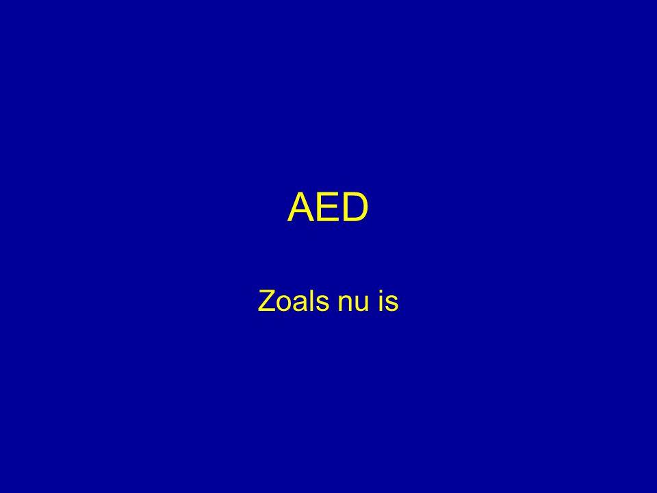 AED Zoals nu is