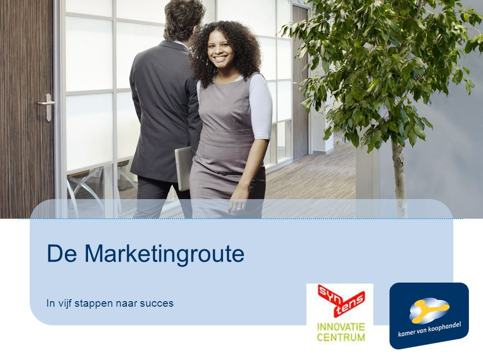 De Marketingroute In vijf stappen naar succes