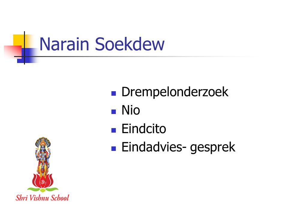 Narain Soekdew Drempelonderzoek Nio Eindcito Eindadvies- gesprek